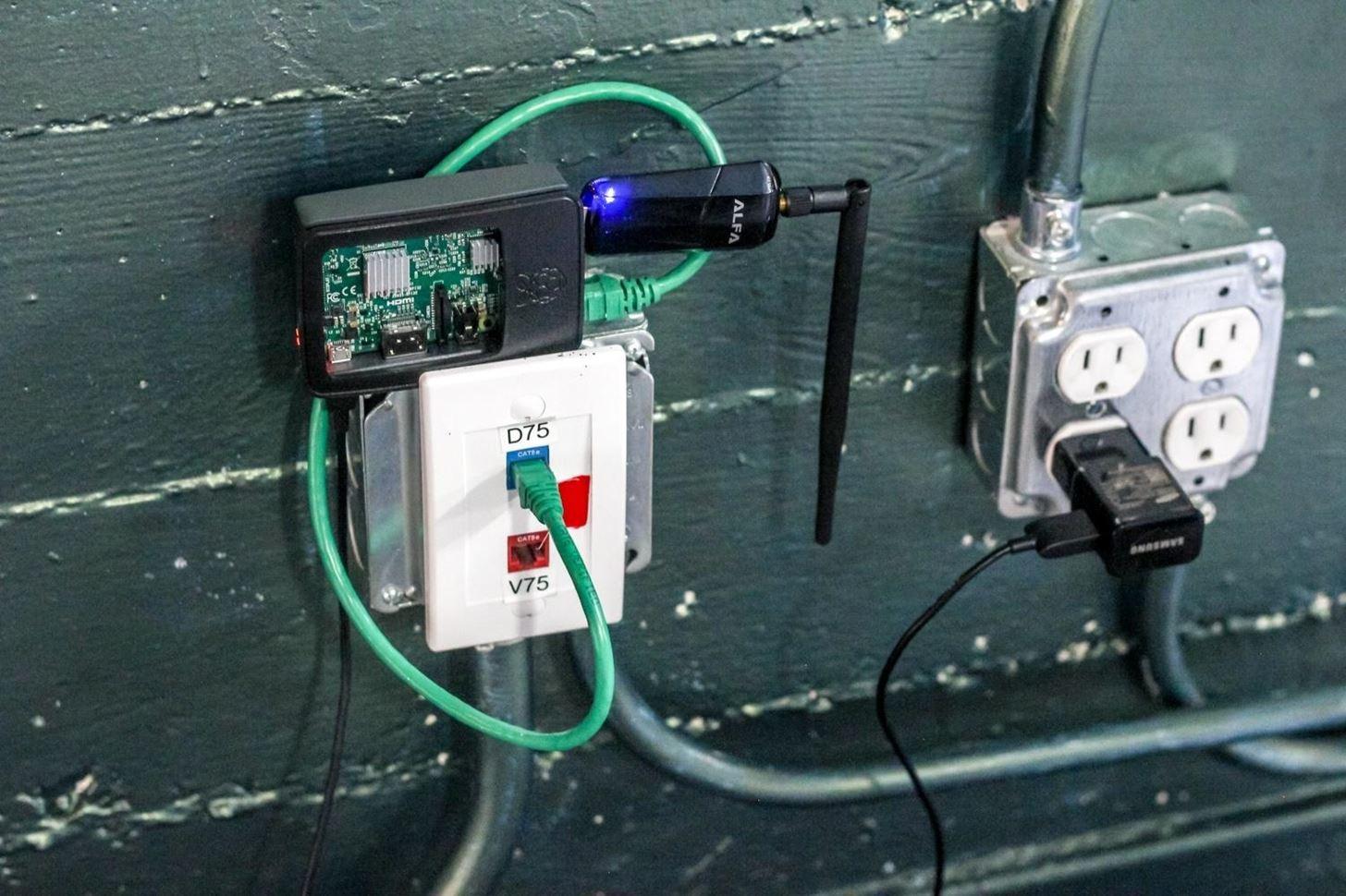 rogue wifi device raspberry pi syntricks